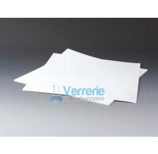 Papier filtre en PTFE porosite 5 um epaisseur 1 mm dim 320x320mm