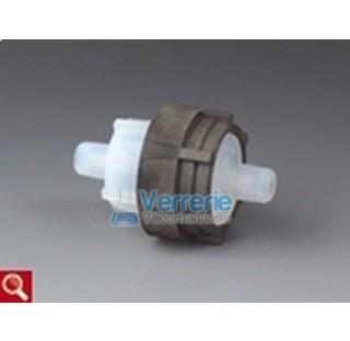 Filtre sous vide de haute depression 1500mbar pour membrane 47mm surface de filtration 14,1 cm2 pour