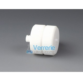 Filtre pour seringue en PTFE pour membrane diam 13mm surface de filtration 0,78 cm2 diam ext 21mm ha