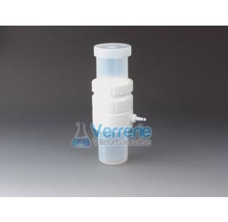 Filtration sous vide pour membrane 240 ml diam 47mm ,surface de filtration 13,8cm2 ,diam ext 86mm ha