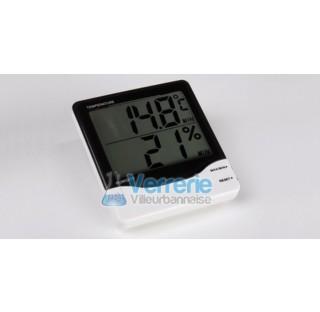 Hygrometre pour dessicateur Dim. 110 x 20 x 95mm