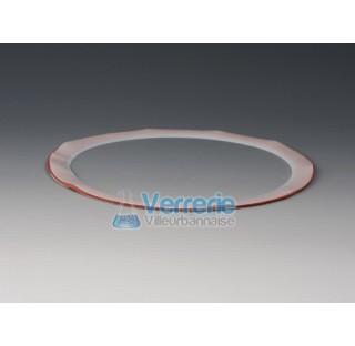 Joint PTFE ep 0,5 mm pour reacteur NW100 Temp max de -200 a + 250 degre