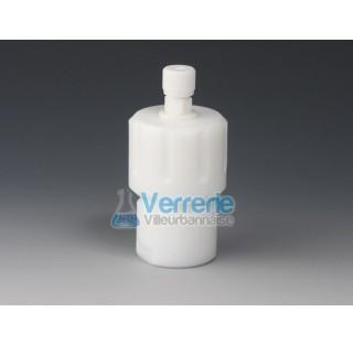 Recipient PTFE d'hydrolyse et de digestion pour micro-ondes 10 ml avec liner diam int :24mm Haut. in