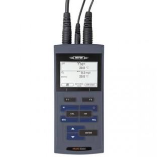 Multiparametre Multi 3320 pour mesure de pH , conductivite ,ORP et oxygene dissout .Ecran LCDsondes