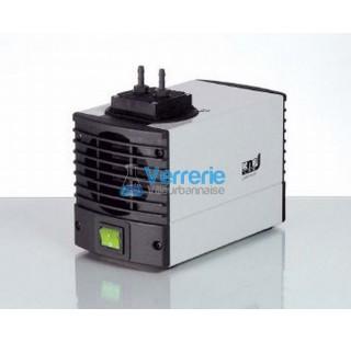 Mini pompe a vide et compresseur a membranes gaz LABOPORT pour laboratoires  Debit a pression atmosp