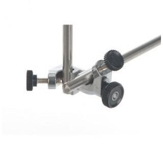 Noix universelle en alu diam 15 mm angle 0+360 degre filetage M8 plastique