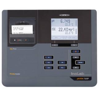 Phmetre de paillasse ph/mv/ISE avec 2 entrees BNC, BPL/AQA avec imprimante integree , livre avec ali