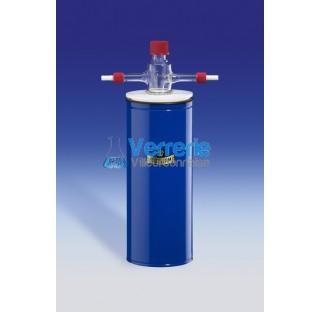 Piege refrigerant avec pas de vis GL18 et olive plastique Capacite 150 ml capacite de refroidissemen