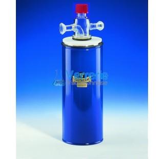 Piege refrigerant avec rodage spherique S29 jointe male et femelle Capacite 150 ml capacite de refro