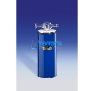 Piege refrigerant avec rodage spherique S29 jointe male et femelle Capacite 250 ml capacite de refro