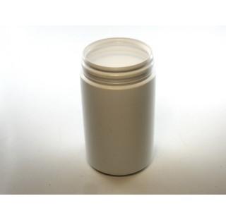 Pilulier 300 ml en PEHD blanc, inviolable bague P60