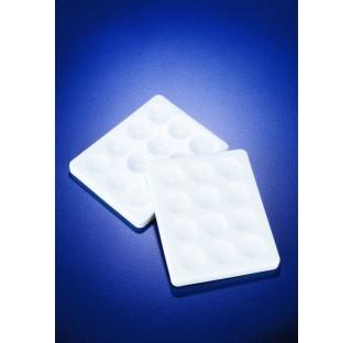 Plaque a coloration PP blanc 115x95