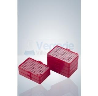 Pointes transparentes 0,2 - 10 ul 10 boites de 96 pieces certifiees conforme pour Labopette sans cad
