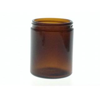 Pommadier 180 ml en verre jaune sodocalcique jaune bague 63/400