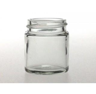 Pommadier 30 ml en verre blanc sodocalcique bague 38/400