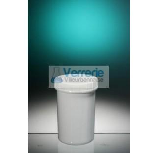 Pommadier 75ml Polypropylene blanc hauteur 67 diam PV75-01