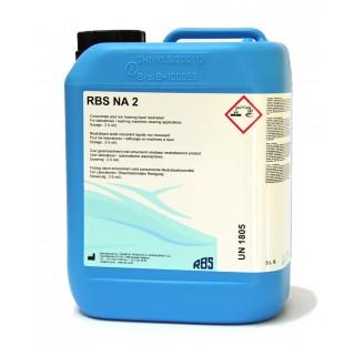 Neutralisant liquide acide phosphorique pour machine a laver produit : RBS NA 2, 4 x 5 l naturel