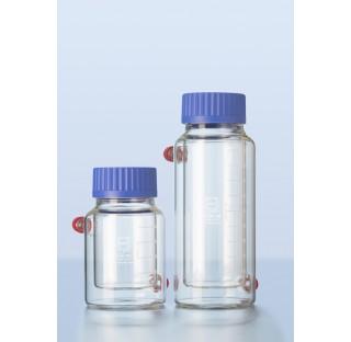 Thermostatiques double enveloppe DURAN flacons avec filetage GLS 80 500 ml avec capuchon a visser et