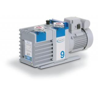 Pompe a palettes RZ 9, a deux etages, 230 V / 50-60 Hz, cordon d'alimentation CEE  debit maxi : 8,9/