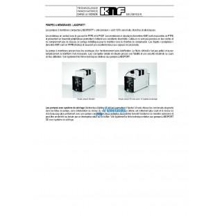 Systeme de pompage multipostes SBS LABOBASE pour le laboratoire  Debit a pression atmospherique : 60