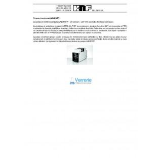 Systeme de vide SEM LABOXACT pour evaporateurs rotatifs  Debit a pression atmospherique : 34 L / min