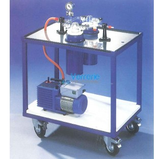 Station de pompage avec piege et DEWAR CP1 avec manometre Articles speciaux qui ne peuvent etre ni r