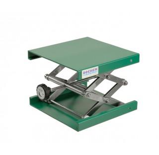 Support boy elevateur 100x100mm hauteur minixmaxi: 55x120mm / 5-10kg en aluminium systeme de montage