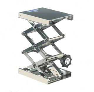 Support boy elevateur MAXI 160x130 hauteur mini x maxi: 75x400mm / 7-30kg en inox