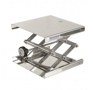 Support boy elevateur 200x200mm hauteur minixmaxi: 60x275mm / 7-30kg en inox