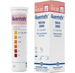 Semi-quantitative test strips QUANTOFIX Nitrite 3000Nitrite - 0 / 0.1 / 0.3 / 0.6 / 1 / 2 / 3 g/