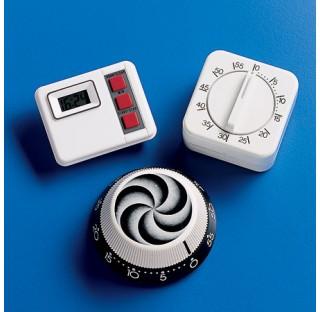 Minuteur a mouvement mecanique  fonction de compte a rebours 60 a 0 minutes. plastique Kartell