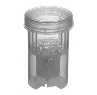 10 tubes broyeur 50 ml a bille en verre BMT-50-S Application : Broyage a sec d'echantillons secs et