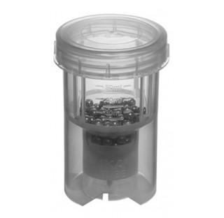 10 Tubes broyeur 50 ml a billes en inox BMT-50 S Application : Broyage a sec d'echantillons secs et