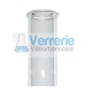 Tube a mineralisation et/ou a digestion azote kjeldhal exterieur 42 x longueur 300 mm epaisseur 2.3