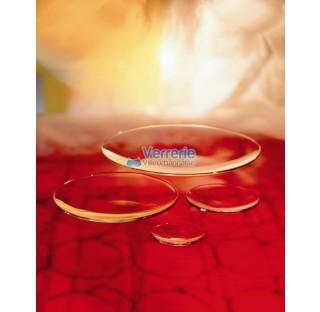 Verre de montre Diam 250 mm bords rebrules en verre Pyrex (borosilicate) pour laboratoire
