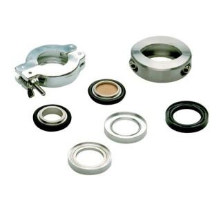 Collier de serrage, acier inoxydable,KF DN 32/40