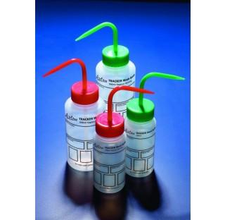 Pissettes 250 ml, avec etiquette imprimee pour tracabilite, LDPE